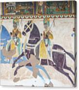 Haveli Art Canvas Print