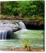 Haw Creek Falls Canvas Print