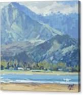 Hawaii Blues Canvas Print