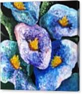 Hawaii Flowers Canvas Print