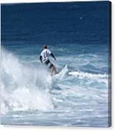 Hawaii Pipeline Surfer Canvas Print