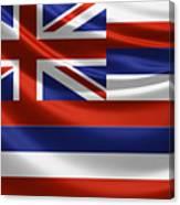 Hawaii State Flag Canvas Print