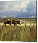 Hawaiian Cowboys Canvas Print