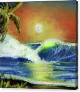 Hawaiian Moon #399 Canvas Print