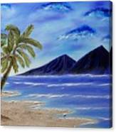 Hawaiian Palms Canvas Print