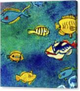 Hawaiian Reef  Fish #223 Canvas Print