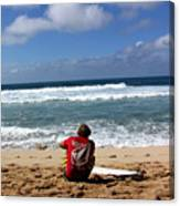 Hawaiian Surfer Canvas Print