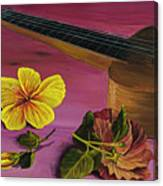 Hawaiian Ukulele Canvas Print