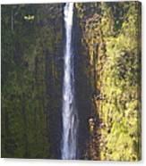 Hawaiian Waterfall Canvas Print