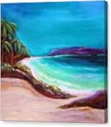 Hawaiin Blue Canvas Print