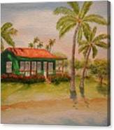 Hawaiin Cottage Canvas Print