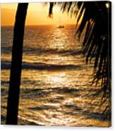 Hawaiin Sunset Canvas Print