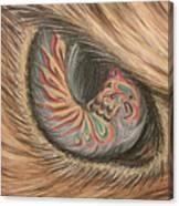 Hawk Eye Thunderbird Canvas Print