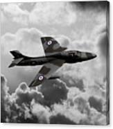 Hawker Hunter Canvas Print