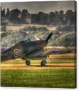 Hawker Hurricane Mk 1 R4118 Takeoff Canvas Print