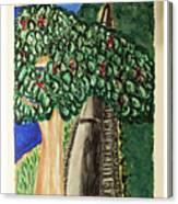 Hawkesbury's River-train. Canvas Print