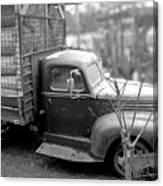 Hay Truck Canvas Print