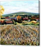 Haycock Mountain In Bucks County Pa Canvas Print