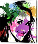 Hayden Panettiere Pop Art Canvas Print