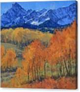 Hayden Peak Canvas Print