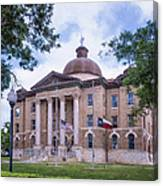 Hays County Courthouse Canvas Print