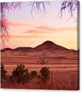 Haystack Mountain - Boulder County Colorado -  Sunset Evening Canvas Print