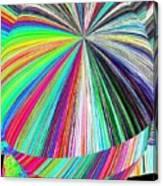 Hazelnut Abstract Canvas Print