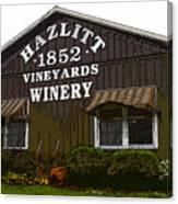 Hazlitt Winery 1852 Canvas Print