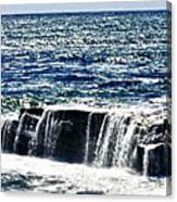 hd 347 The Rock hdr Canvas Print