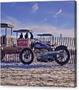 Hd Fence Line Canvas Print