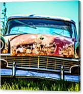 Hdr Car Canvas Print