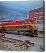 Hdr Fun With Trains Canvas Print