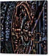 Hdr Liberty Bike Copper Ny Canvas Print