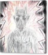 He Flame Canvas Print
