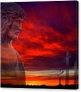 He Has Risen Canvas Print