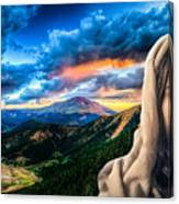 He Watches Over Me Canvas Print