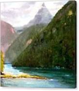 Head Bay - Vancouver Island Canvas Print