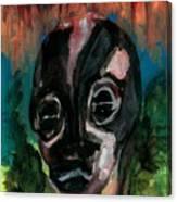 Head Canvas Print