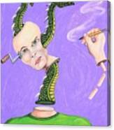 Head Crank Canvas Print