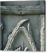 Head Stone  Canvas Print