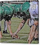 Head To Head Digital Art Canvas Print