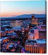 Heading North On The Strip Canvas Print