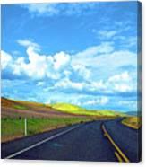 Heading Toward The Palouse Canvas Print