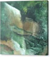 Headstone Falls Canvas Print