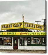 Health Camp Canvas Print