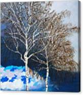 Healthy Trees Canvas Print