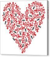 Heart Icon Canvas Print