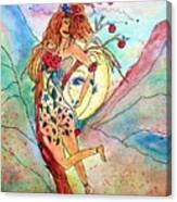 Heart Of Her World Canvas Print