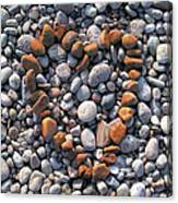 Heart Of Stones Canvas Print