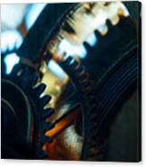 Heart Of The Machine - Time Canvas Print